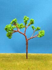 NJP1- 10 pcs Scale Train Layout Set Model Trees HO N