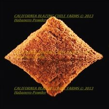 1 oz. Pure Habanero Powder and XXX-Hot! Orgaically grown and cultivated