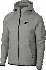 Nike NSW Tech Fleece Full Zip Mens  Hoodie Grey Multi Size Sportswear Sweatshirt