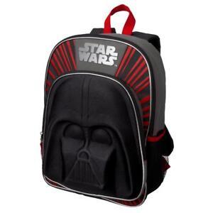 NWT Gymboree Boys Backpack Darth Vader Star Wars Bag School Galactic Winter