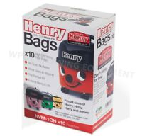 10 x Genuine Numatic Henry #Hetty HEPAFLO Vacuum Cleaner Hoover Bags 604015