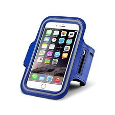RUNNING JOGGING SPORTS GYM ARM BAND ARMBAND CASE COVER HOLDER FOR IPHONE 6 6s BL