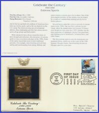 USA7 #3191d ADDR GOLDEN REPLICA FDC   1990s Extreme Sports