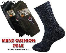 15193b07d4603 6 Pairs Mens Chunky Wool Boot Socks Hiking Thermal Warmth Winter Work Se11