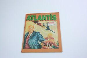 MARTIN MYSTERE #4 - Turkish Comic Book - 2000s - VERY RARE - Atlantis