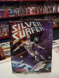 SILVER SURFER: JUDGEMENT DAY HC (Marvel Graphic Novel, 1988) NM!