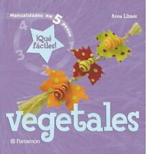 Vegetales (Manualidades en 5 pasos)