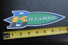 New listing Billabong Australia South America Surfboards Rare Vintage Surfing Sticker