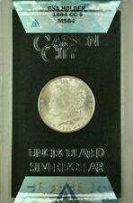 1884-CC GSA Hoard Morgan Silver Dollar $1 Coin ANACS MS-64 w/ Box&COA (N)