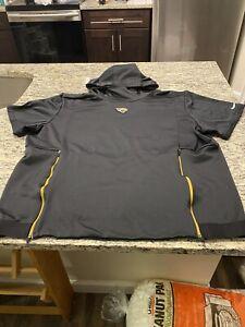 Jacksonville Jaguars Nike On Field Apparel Short Sleeve Hoodie