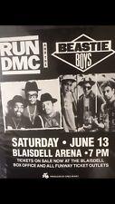 Run Dmc And The Beastie Boys (Rare) 1987 Original Vintage Hawaii Poster Last One