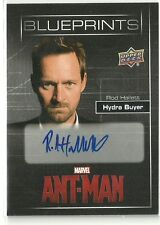 Upper Deck Marvel Ant-Man Blueprints Rod Hallett Hydra Buyer Auto Autograph Card