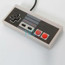 USB Wired Classic Gaming Controller for Nintendo NES Computer PC Gray