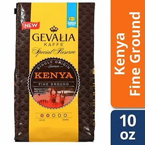 Gevalia Special Reserve Kenya Mild Roast Fine Ground Coffee 10 Oz (Pack of 1)