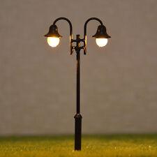 10 pcs OO HO gauge Lamp LEDs made Model Lamppost long life Lights No Melt #Y2610