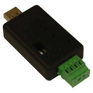 GeoVision GV-COM V2 RS-485 to USB Port Data Interface Converter