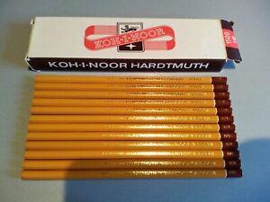 12 VINTAGE  PENCILS KOH I NOOR HARDTMUTH- in ORIGINAL BOX-NEW--