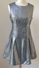 Beautiful Size 10 Silver 'Vintage' Topshop dress - Party Prom Wedding Festival