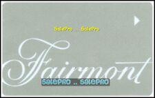 FAIRMONT INTER. RESORT MT. TREMBLANT CHATEAU MONTEBELLO HOTEL SUITE ROOM KEY
