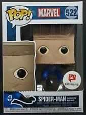 Funko Pop + Protector! Marvel #522 - Spider-Man (Bombastic Bag Man) *Mint*