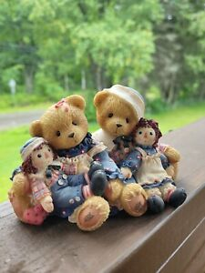 Cherished Teddies 706981 Rosemarie and Ronald Raggedy Ann & Andy