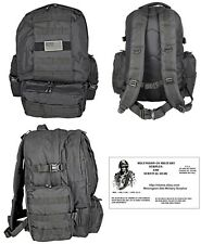 Deploy MOLLE  BackPack / Bug Out Bag ( BLACK ) + FREE PARACORD SURVIVAL BRACELET