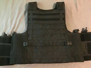 voodoo tactical condor plate carrier maximum protection black