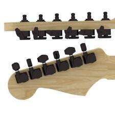 Hipshot Guitar Black Tuner Upgrade Kit Fender Directrofit staggered set