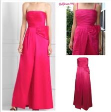 bcbgmaxazria Pink Begonia Bow Gown Long bridesmaid Wedding Dress Fashion New$349