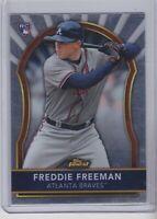 2011 Topps Finest Freddie Freeman Rookie #72 non auto