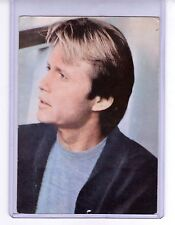 John Voight vintage film postcard foreign issue unused