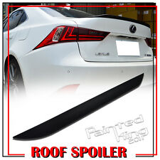 PAINTED FOR LEXUS IS250 IS350 IS300h IS250 F REAR TRUNK LIP WING SPOILER 202