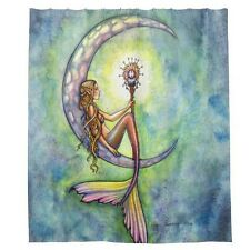 Mermaid Waterproof Bathroom Shower Curtain - Rideau de douche