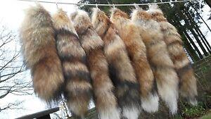 Fox fuchs Tail Fox Tail Fuchsrute Real Red Fox Pendant