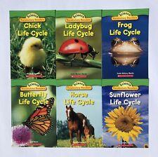 Life Cycles Science Kids Books Level J K Lot 6 Bonus Full Size Teaching Guide