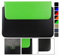 """Pu Leather Magnetic Case Cover Sleeve FitsMediacom SmartBook 141 S1 Notebook 14"""""""