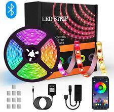 Tira de LED - 4 pines 5050 RGB Tira de luces LED que cambian de color, LED de