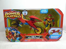 Power Players Axel Figure with Motorcycle MISB 2019 Playmates