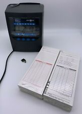 Lathem 7500e Calculating Atomictime Time Clock Withkey Amp 200 Top Loader Time Cards