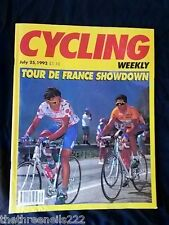 CYCLING WEEKLY - TOUR DE FRANCE SHOWDOWN - JULY 25 1992