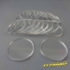 TTCombat - Round Clear Bases (20 x 32mm)