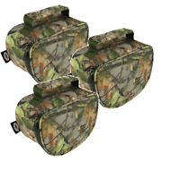 NGT Deluxe Camo Pattern Fishing Reel Cases Bag For Carp Reels Fishing Tackle