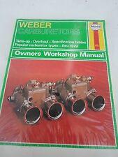 Haynes Weber Carburetors No. 393 by A. K. Legg (1965, Paperback)