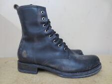 Women's Frye Black Veronica Combat Boot Size 9.5 #76272