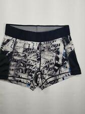 Adidas Techfit Spandex Shorts Sz Xs Womens Medium-Compression Black Graphic