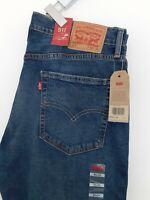 Levi's  Jean 511  Slim Fit ,Stretch Yucatan  Blue New With Tag Trouses W36  L34