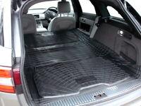 3pc modular rubber boot liner load mat bumper protector Jaguar XF Sportbrake