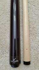 IN STOCK, Meucci Wrapless Pool Cue w/ Red Dot Shaft, FREE MCDERMOTT HARD CASE