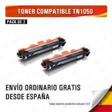 BROTHER TN1050 NEGRO CARTUCHO DE TONER COMPATIBLE TN-1050 Pack 2
