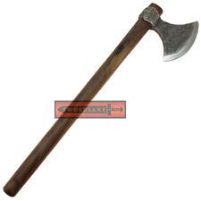 Odin's Viking Axe Bearded Medieval Carbon Steel Berserker Raider War God Blade